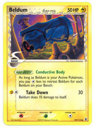 Beldum (Delta) - 59/113 - Common NM-Mint Pokemon EX - Delta Species