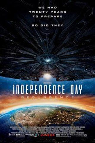Independence day resurgence HD MA no RELIST