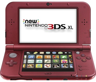 Nintendo - New 3DS XL, RED OR BLACK