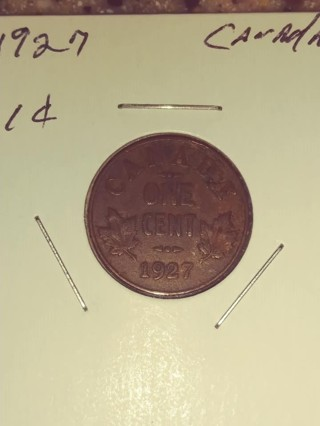 1927 Canadian Penny! 73