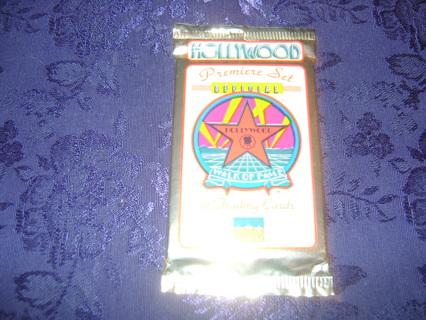 Hollywood Walk Of Fame Sealed Trading Cards