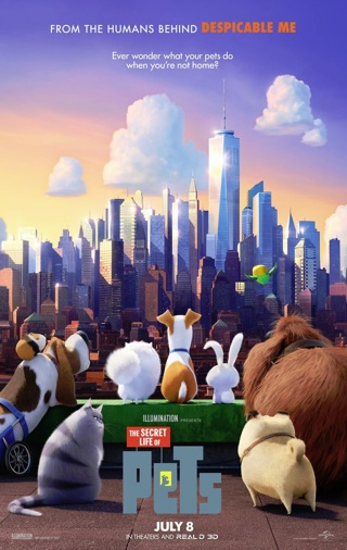 THE SECRET LIFE OF PETS (2016) HD Digital Copy FOR iTUNES ONLY