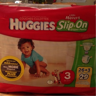 Huggies little movers slip on diapers #2