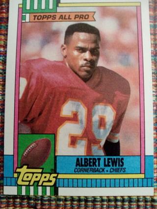 Topps #254 Albert Lewis