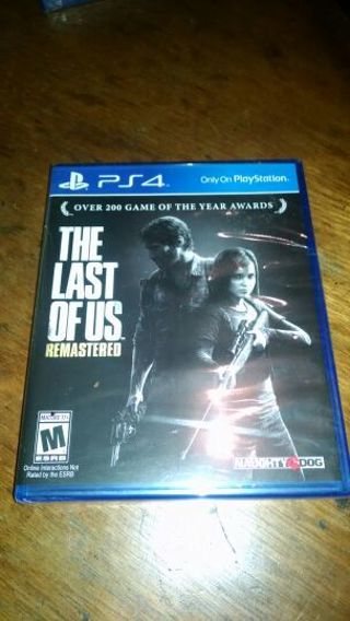 THE LAST OF US!!! FULL GAME FOR PS4!! FREE SHIPPING, BRAND NEW SEALED