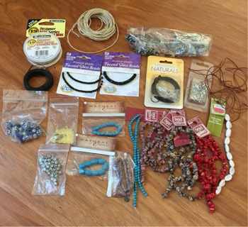 BIG Bead jewelry Lot Findings, Beads and More!