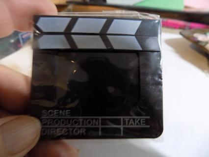 Direc tors clap board keychain photo frame NIP