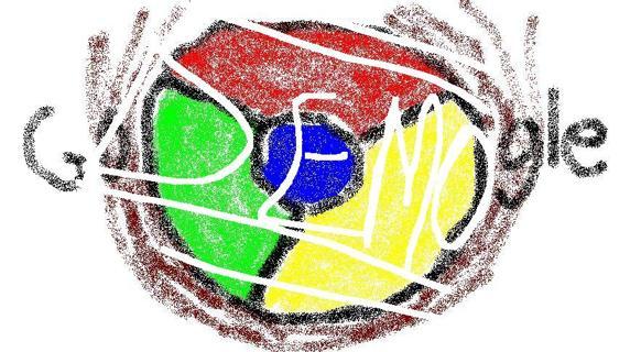 Child's Google Chrome Logo (EMAIL)