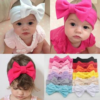 Lovely Newborn Baby Toddler Girl Kid Bow Rabbit Flower Hair Band Turban Headband