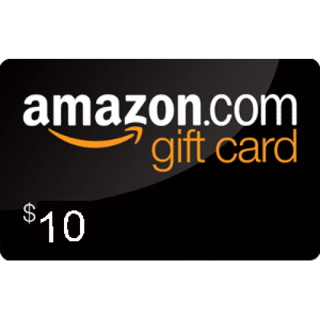 $10 Amazon gift card e-mail delivery within 24 hours