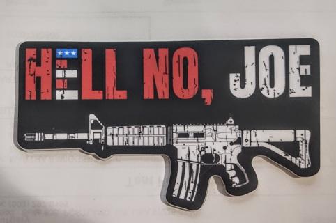 Hell No, Joe - Decal