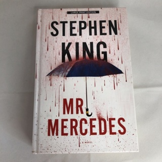 Stephen King Mr. Mercedes hardback book novel fiction