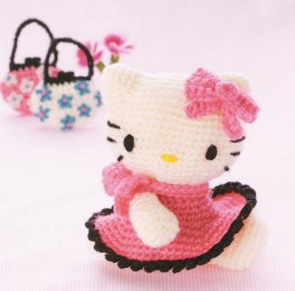 Hello Kitty Amigurumi - Amigu World Hello Kitty Amigurumi Characters | 320x324