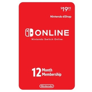 Nintendo Switch Online 12-Month Individual Membership [Digital Code] Fast Delivery!