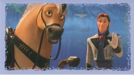 frozen hans horse