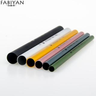 6Pcs/Set Artificial Form Builder Tips Acrylic C Curve Shaping Curving Sticks Tube French Rod Nail