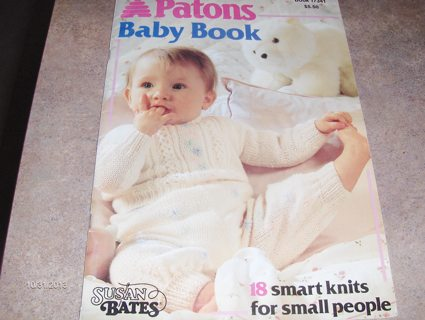 Patons Baby Book