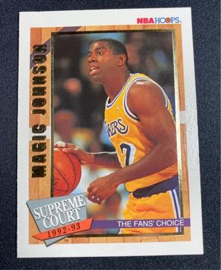 1993 HOOPS MAGIC JOHNSON (GOLD)