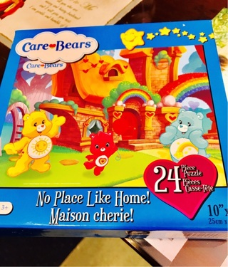 Free brand new gift quality care bears puzzle by american greetings brand new gift quality care bears puzzle by american greetings fun in the woods m4hsunfo