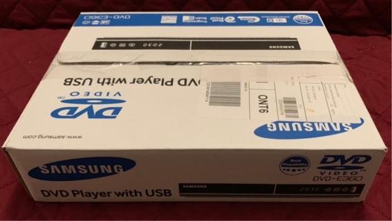 Samsung DVD Player USB