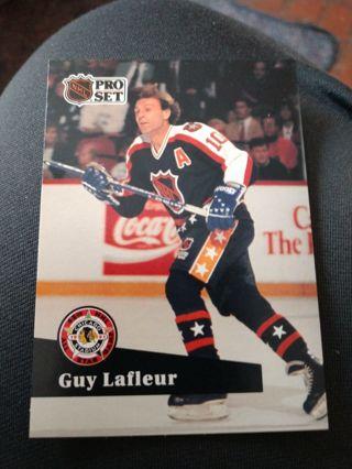 Hockey card - Guy Lafleur 1991