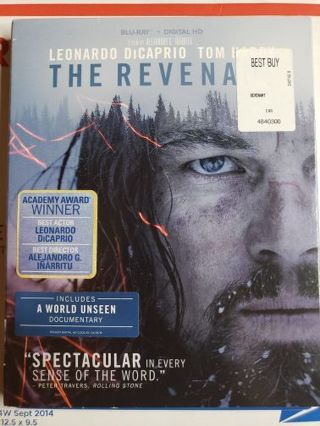 The Revenant Blue-ray movie