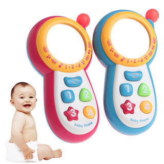 Baby Kids Musical Phone Toy Toddler Children Sound Learning Educational Gift New