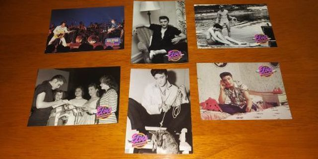 1992 The River Group Elvis Presley SERIES TWO Card Lot #3