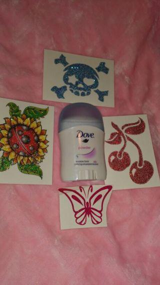 4 Temp Tattoo Stickers