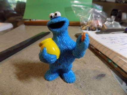 3 inch Sesame Street Cookie Monster pvc