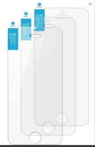 NEW iPHONE 5 Screen Protectors 3-Pack for iPhone 5 iPhone 5s / 5se