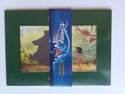 Disney Collectible Litho Set The Jungle Book Factory Sealed