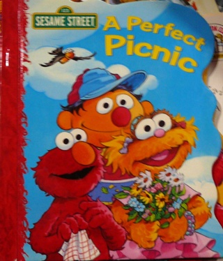Sesame Street..A perfect picnic..Hard Book