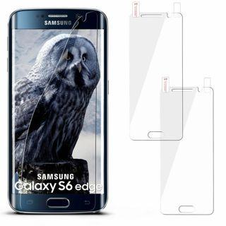 1 BRAND NEW SAMSUNG GALAXY S6 EDGE PHONE CLEAR SCREEN PROTECTOR FILM