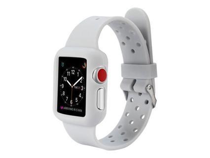 BRAND NEW Apple Watch SE Smart Watch Silicone Sport Strap & Case Housing (Grey)(40mm)