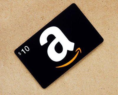 $10 Amazon Gift Card