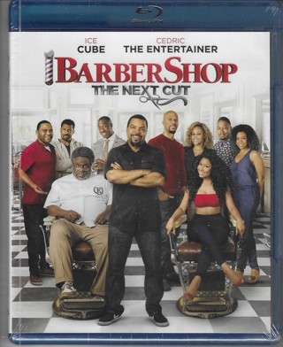 Brand New Never Been Opened Barber Shop The Next Cut Blue Ray