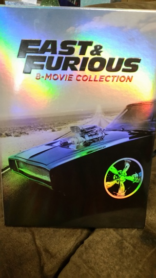 Fate of the Furious - Complete 8 Movie Fast & Furious DVD Collection Brand New Sealed