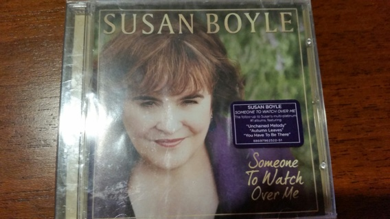 Susan Boyle- Someone to Watch Over Me - CD New