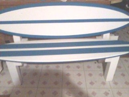 Free Surfboard Bench Furniture Auctions