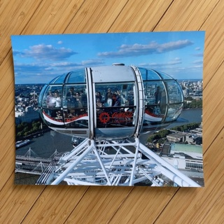 Top of the London Eye - 8X10 Original Photograph