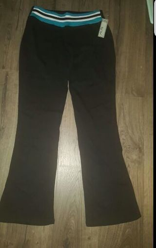 NEW With Tags Gw Yoga Workout Gym Pants Size Medium