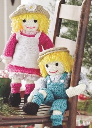 Free: Polly and Wally rag doll pattern - Crochet - Listia.com ...