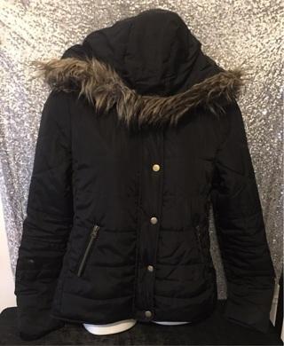 Miss London Puffer Coat