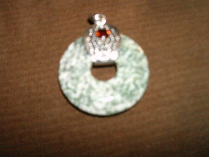 """""""""""BRAND NEW"""""""" AGATE,WITH GARNET SET ON S.S.S. 925 MARKED"""""""""""
