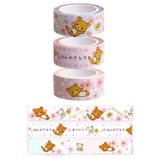 Rilakkuma washi tape samples