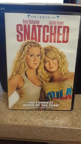 SNATCHED WITT GOLDIE HAWN & AMY SCHUMER DVD