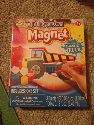 Paint Your Own Magnet