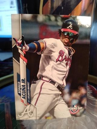 2020 Ronald Acuna Jr. Topps Opening Day / Atlanta Braves