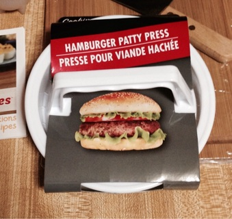 New Hamburger Patty Press
